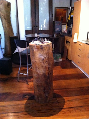 log table is one of the urban forest products