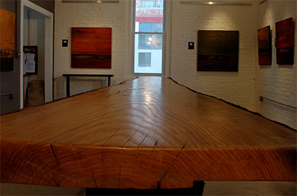 twenty foot oak table